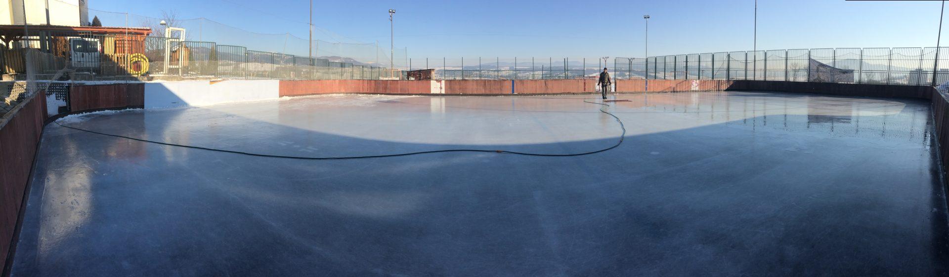 Korčuľovanie v Salezku
