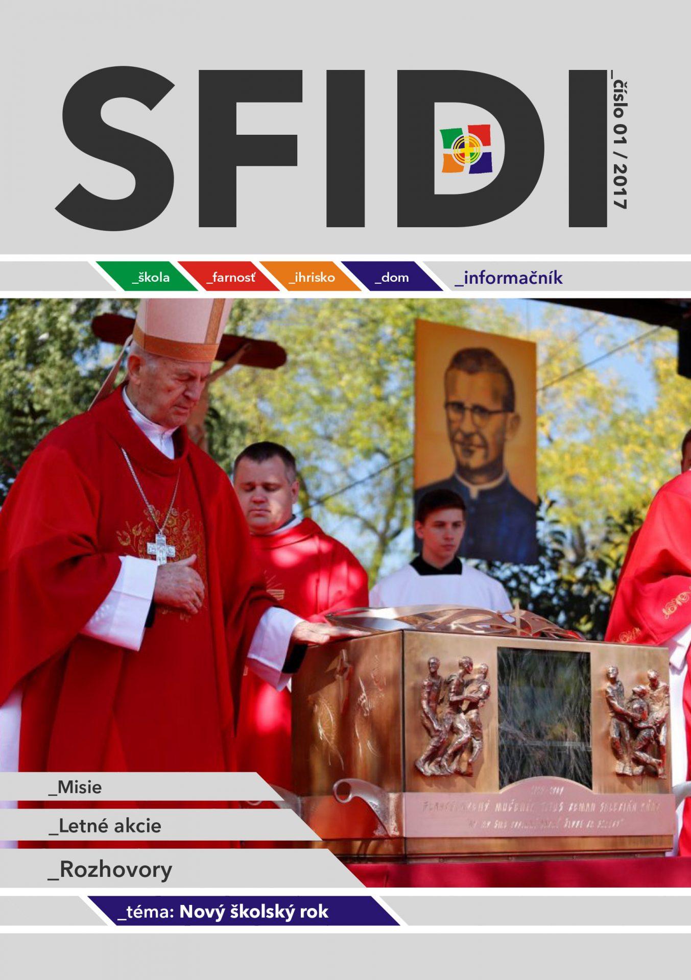 SFIDI 2017/4 - Nový školský rok