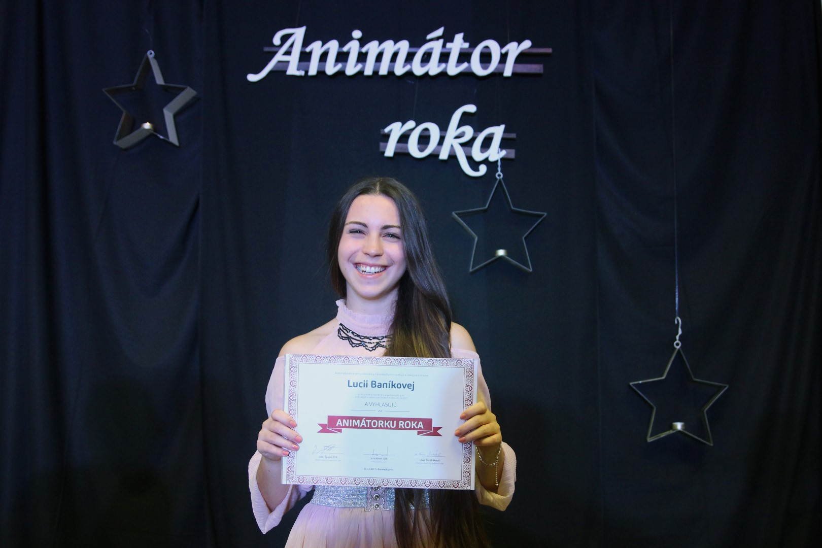 Animátorský čin roka 2017