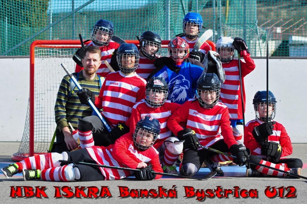 Hokejbalový tím Salezko
