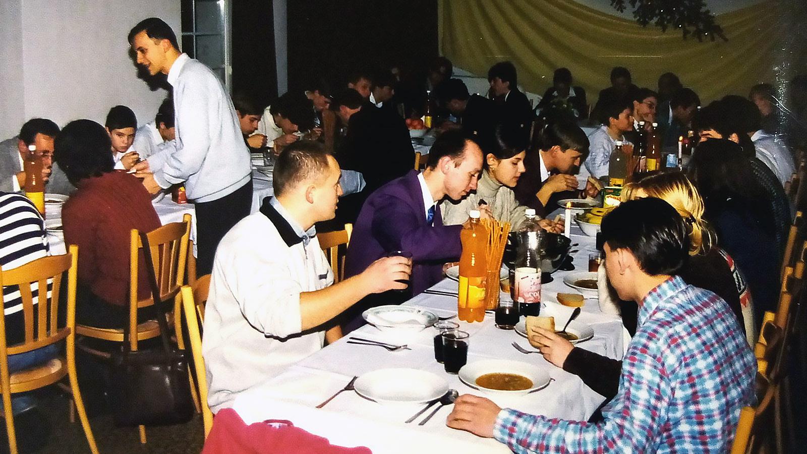 1999 - Prvá animátorská štedrá večera