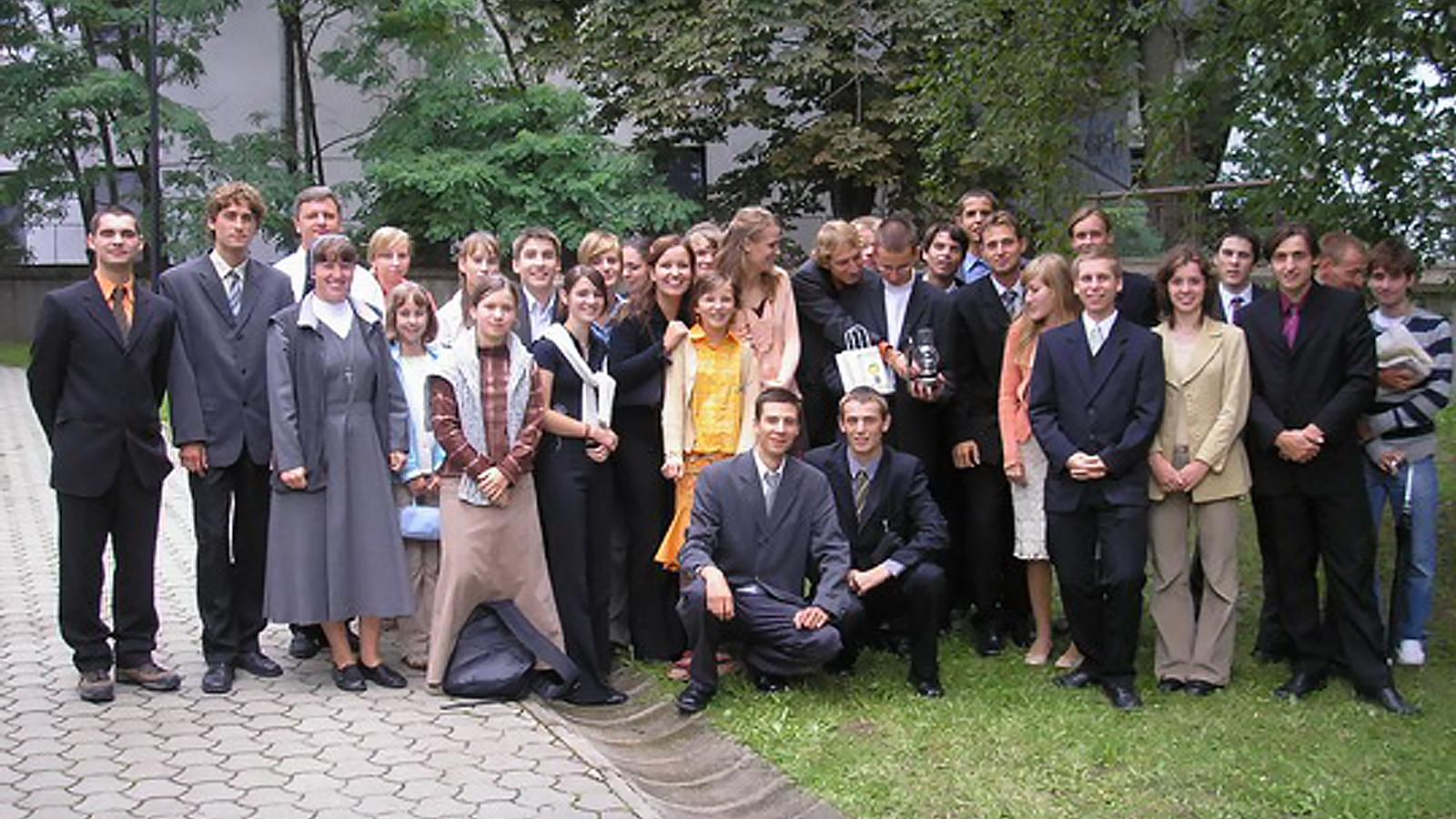 2006 Bystričan Peter Štellmach sa stáva saleziánom
