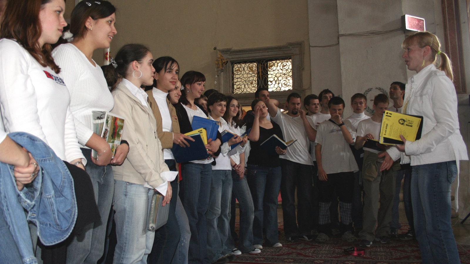 2006 Mládežnícky zbor Stagg hral na Festivale Lumen